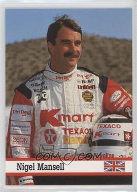 1993 Fax Pax - [Base] #35 - Nigel Mansell