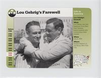 Lou Gehrig's Farewell