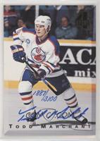 Todd Marchant #/3,100
