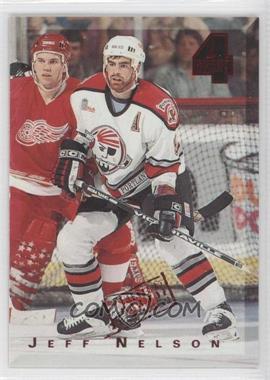 1994 Classic 4 Sport - [Base] - Printer's Proof #146 - Jeff Nelson /1000