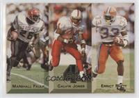 Marshall Faulk, Calvin Jones, Errict Rhett /2695