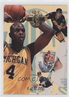 Chris Webber Rookie Related Rookie Year Multisport Cards
