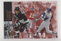 Joe Montana, Wayne Gretzky, Michael Jordan, Reggie Jackson /10000
