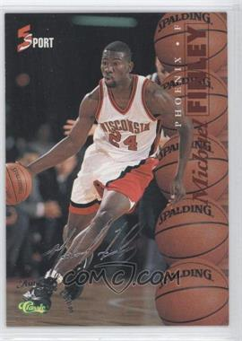 1995 Classic 5 Sport - [Base] - Autograph Edition Silver #S17 - Michael Finley