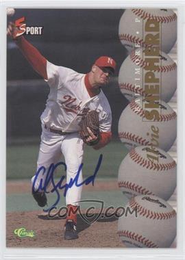 1995 Classic 5 Sport - [Base] - Non-Numbered Autographs [Autographed] #ALSH - Alvie Shepherd