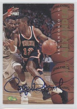1995 Classic 5 Sport - [Base] - Non-Numbered Autographs [Autographed] #COAL - Cory Alexander