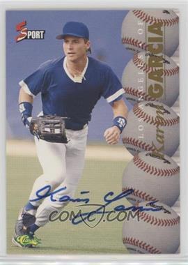 1995 Classic 5 Sport - [Base] - Non-Numbered Autographs [Autographed] #KAGA - Karim Garcia