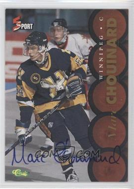 1995 Classic 5 Sport - [Base] - Non-Numbered Autographs [Autographed] #MACH - Marc Chouinard