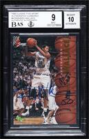 Rasheed Wallace [BGS 9 MINT] #/225