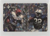 Marshall Faulk, Ki-Jana Carter #/1,299
