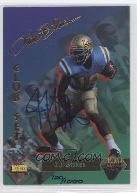 1995 Signature Rookies Tetrad - AutoBilia Club Set - Autographs [Autographed] #75 - J.J. Stokes /1000