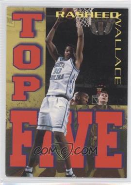 1995 Signature Rookies Tetrad - Top Five #T4 - Rasheed Wallace