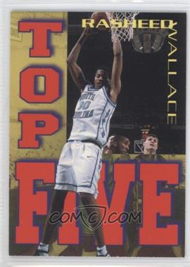 1995 Signature Rookies Tetrad - Top Five #T4 - Rasheed Wallace