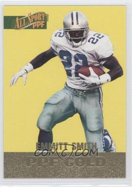1996 Score Board All Sport PPF - [Base] - Gold #87 - Emmitt Smith