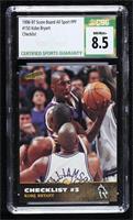 Checklist - Kobe Bryant [CSG8.5NM/Mint+]
