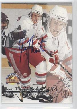 1996 Score Board Autographed Collection - Autographs #JOTH - Joe Thornton