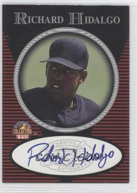 1997-98 Score Board Autographed Collection - Authentic Autographs #RIHI - Richard Hidalgo