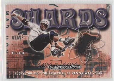 2000 Fleer Adrenaline - Shards #DAWA - Danny Way