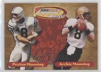 Peyton Manning, Archie Manning