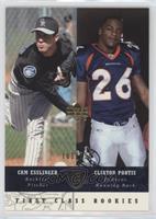 First Class Rookies - Cam Esslinger, Clinton Portis #/250