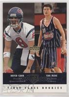 First Class Rookies - David Carr, Yao Ming #/250