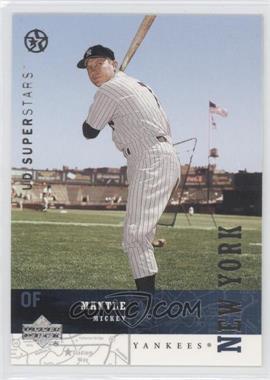 2002-03 Upper Deck UD Superstars - [Base] #152 - Mickey Mantle
