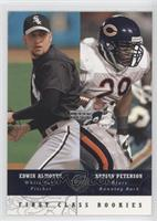 First Class Rookies - Edwin Almonte, Adrian Peterson