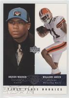 First Class Rookies - William Green, Dajuan Wagner