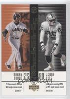 Barry Bonds, Jerry Rice