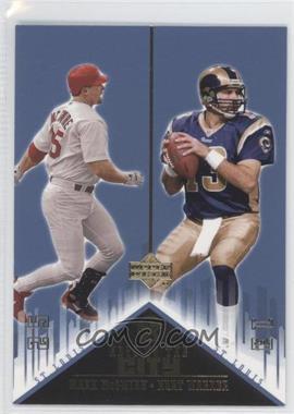 2002-03 Upper Deck UD Superstars - Keys to the City #K3 - Mark McGwire, Kurt Warner