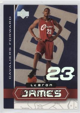 2002-03 Upper Deck UD Superstars - Lebron James #LBJ-4 - Lebron James