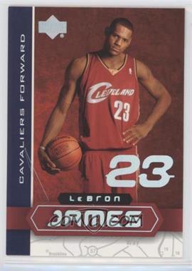 2002-03 Upper Deck UD Superstars - Lebron James #LBJ-5 - Lebron James