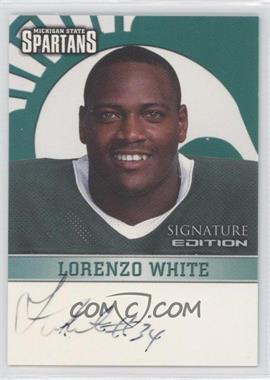 2003 TK Legacy Michigan State Spartans - Signature Edition #MSUMSU11 - Lorenzo White