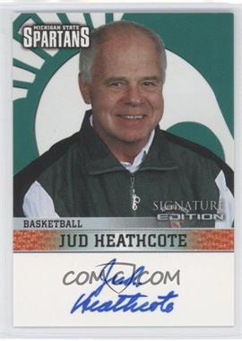 2003 TK Legacy Michigan State Spartans - Signature Edition #MSUMSUB5 - Jud Heathcote