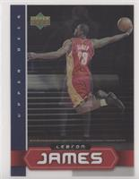 LeBron James (Lenticular Cover Card)