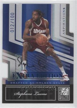 2007 Donruss Elite Extra Edition - [Base] - Aspirations Die-Cut Signatures [Autographed] #140 - Stephane Lasme /100