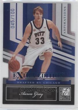 2007 Donruss Elite Extra Edition - [Base] - Aspirations Die-Cut #57 - Aaron Gray /100