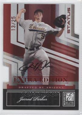 2007 Donruss Elite Extra Edition - [Base] - Status Die-Cut Signatures [Autographed] #104 - Jarrod Parker /25