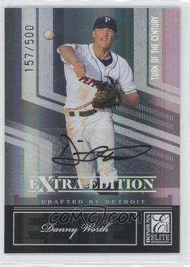2007 Donruss Elite Extra Edition - [Base] - Turn of the Century Signatures [Autographed] #145 - Danny Worth /500