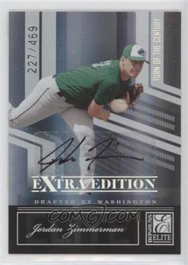 2007 Donruss Elite Extra Edition - [Base] - Turn of the Century Signatures [Autographed] #26 - Jordan Zimmermann /469
