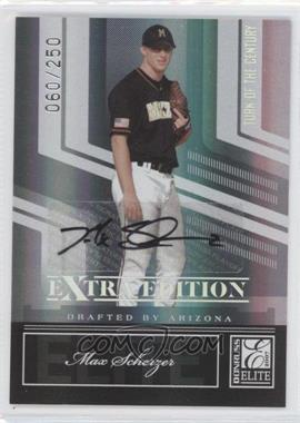 2007 Donruss Elite Extra Edition - [Base] - Turn of the Century Signatures [Autographed] #33 - Max Scherzer /250