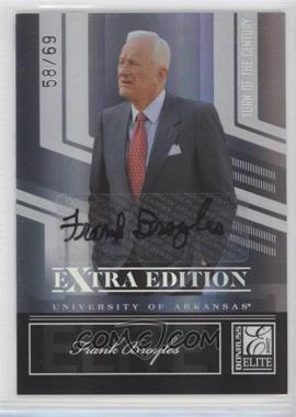 2007 Donruss Elite Extra Edition - [Base] - Turn of the Century Signatures [Autographed] #70 - Frank Broyles /69