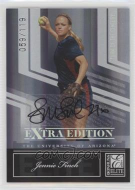 2007 Donruss Elite Extra Edition - [Base] - Turn of the Century Signatures [Autographed] #77 - Jennie Finch /119