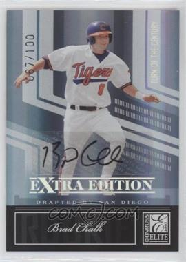 2007 Donruss Elite Extra Edition - [Base] - Turn of the Century Signatures [Autographed] #94 - Brad Chalk /100