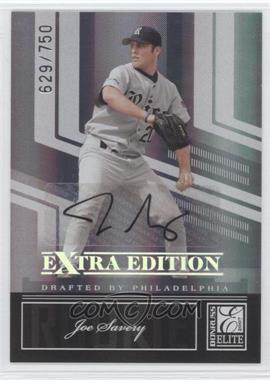 2007 Donruss Elite Extra Edition - [Base] #107 - Joe Savery /750
