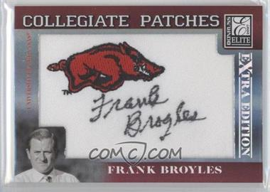 2007 Donruss Elite Extra Edition - Collegiate Patches #CP-FB - Frank Broyles /250