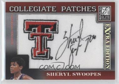 2007 Donruss Elite Extra Edition - Collegiate Patches #CP-SS - Sheryl Swoopes /250