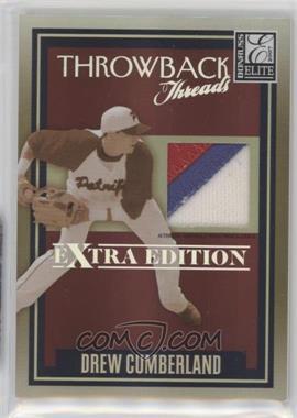 2007 Donruss Elite Extra Edition - Throwback Threads - Prime #TT-DC - Drew Cumberland /50
