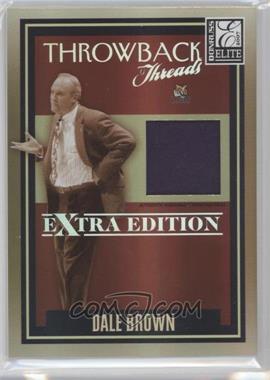 2007 Donruss Elite Extra Edition - Throwback Threads #TT-DB - Dale Brown /500
