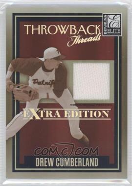 2007 Donruss Elite Extra Edition - Throwback Threads #TT-DC - Drew Cumberland /500